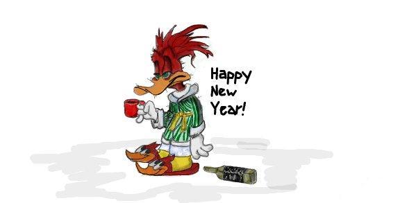 Текст happy new year похмелье